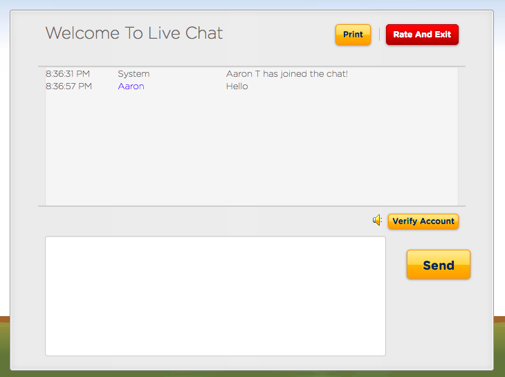 HostGator Customer Support Live Chat