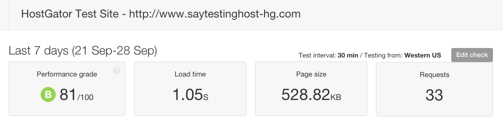hostgator-speed-test