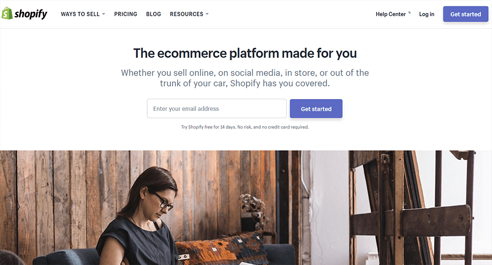 Shopify - The ecommerce platform made for you
